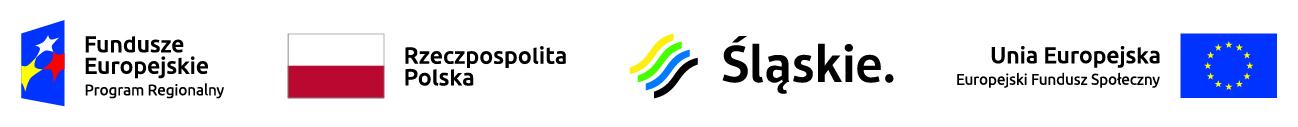 Logotypy Regionalnego Programu Operacyjnego Województwa Śląskiego