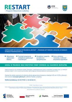 Plakat do programu reSTART